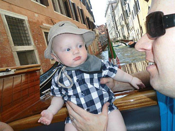 Grandson Declan and his Dad Ian