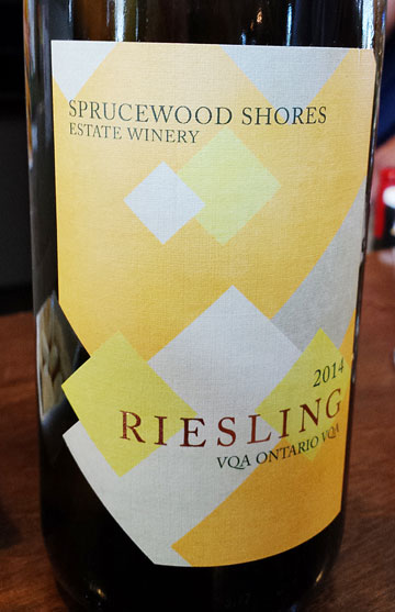 Sprucewood Shores Riesling 2014