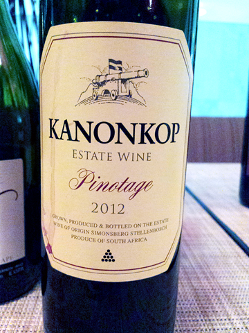 Kanonkop Estate Pinotage 2012