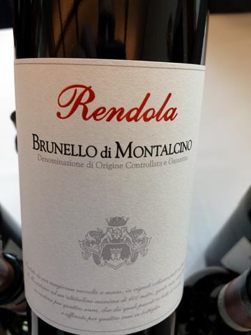 Rendola Brunello di Montalcino 2004