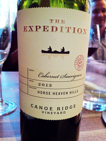 Canoe Ridge 'The Expedition' Cabernet Sauvignon 2013