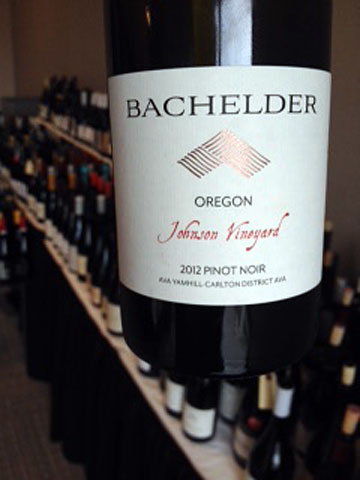 Bachelder Oregon Johnson Vineyard Pinot Noir 2012