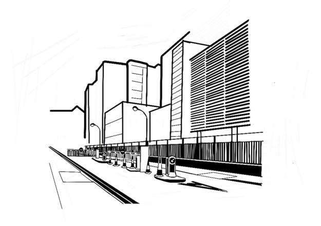 Safron Avenue looking towards Nutmeg Lane