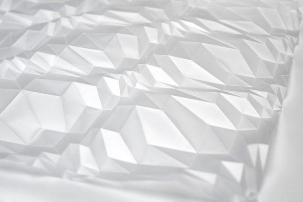 Fibonacci Fold (daimond formation), (detail)