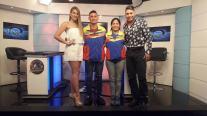 Oscar Ariza y Lisette Ramírez (Clavados)