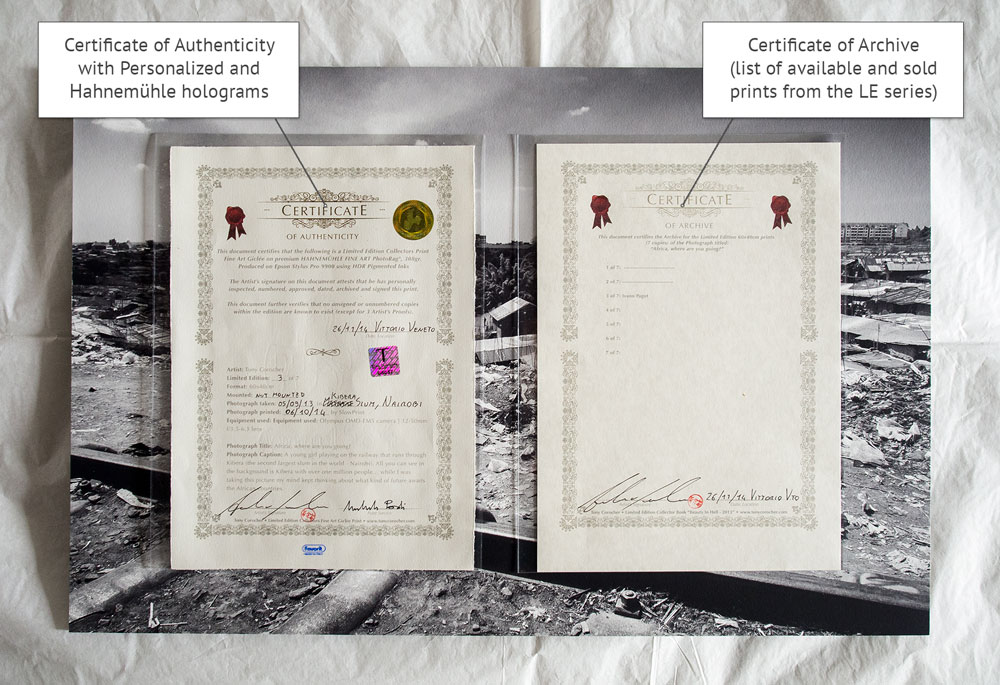 limited edition print certificate of authenticity template - fine art prints at tony corocher photographytony corocher