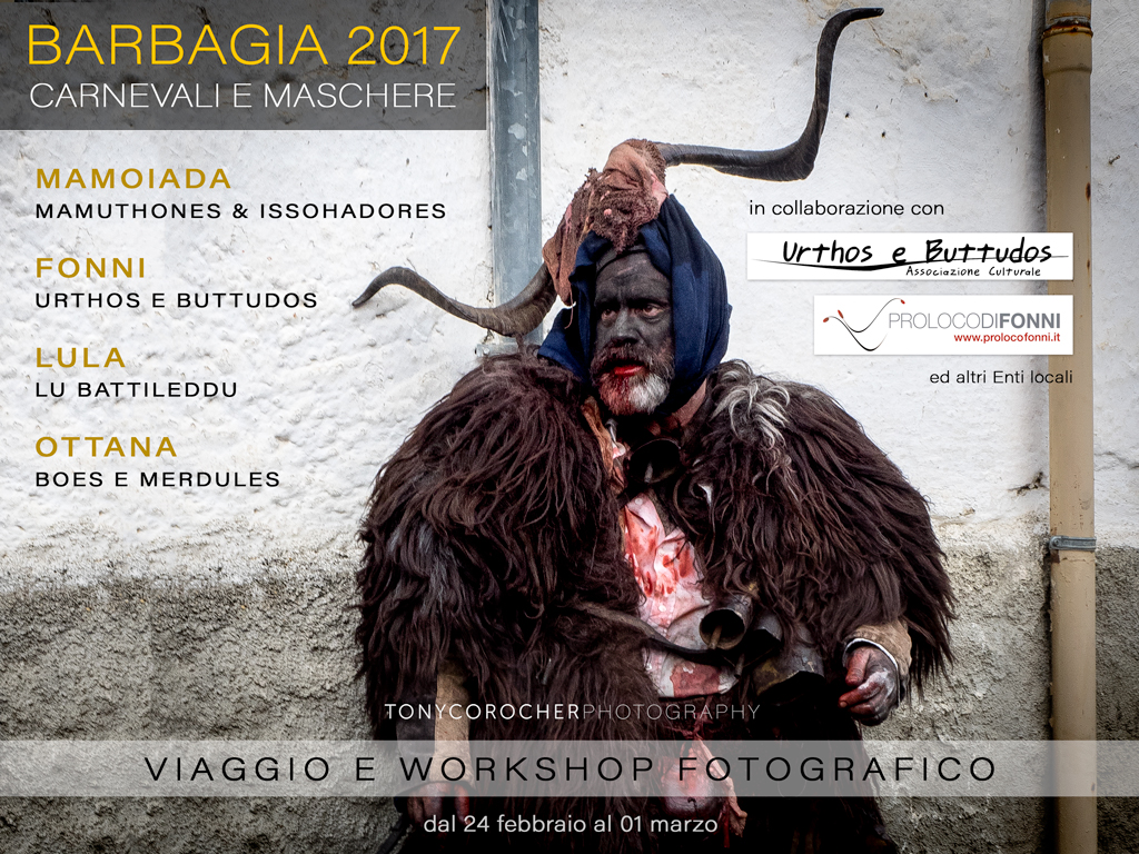 Tony Corocher Workshop Barbagia 2017