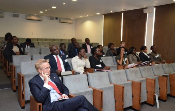 2012 AMIP Associates with TEF CEO, Dr Wiebe Boer at an induction session