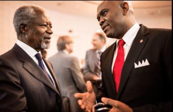 Mr. Tony Elumelu and Mr. Kofi Annan