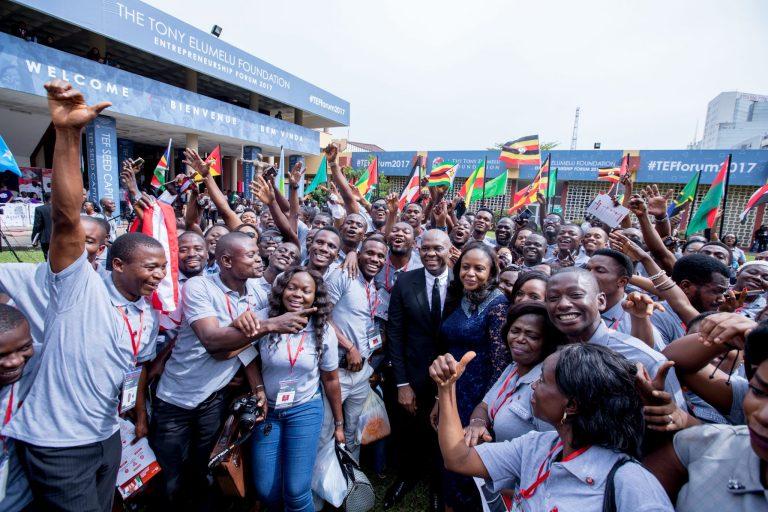 Tony Elumelu Entrepreneurs at TEF Forum 2017