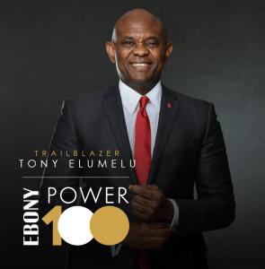 Tony Elumelu Listed on 2020 EBONY POWER 100