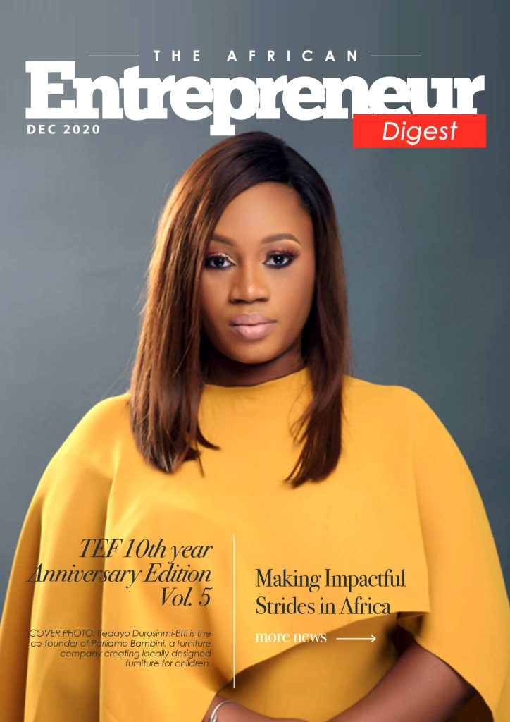 TEF African DIgest December Edition Front Cover