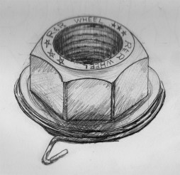 RR Wheel Lug Nut