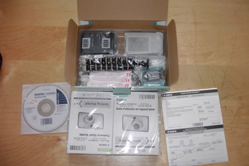 SD890IS contents
