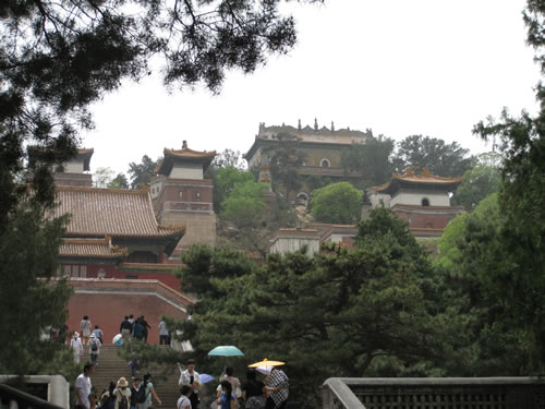Back side of Longevity Hill