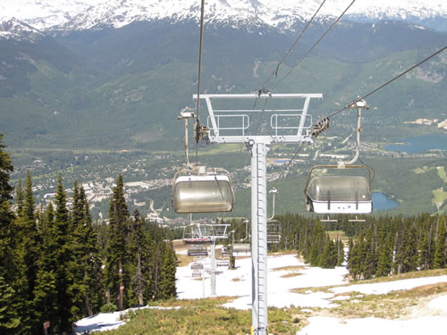 Blackcomb Ski Lift