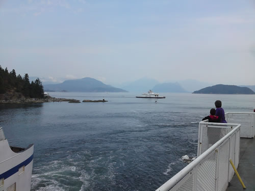View from Horseshoe Bay