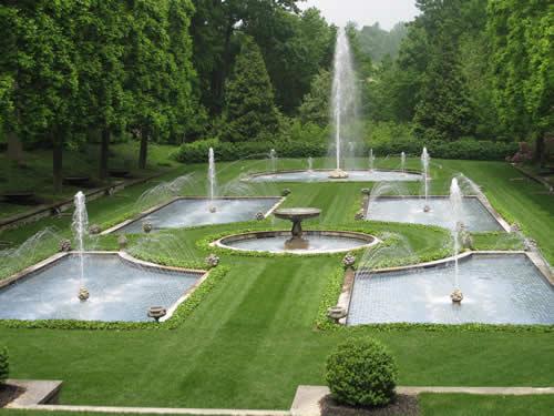 Longwood Gardens Italian Fountains