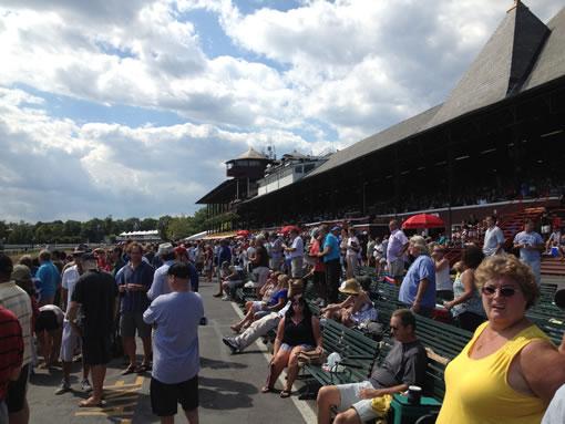 Saratoga Race Track Grandstand