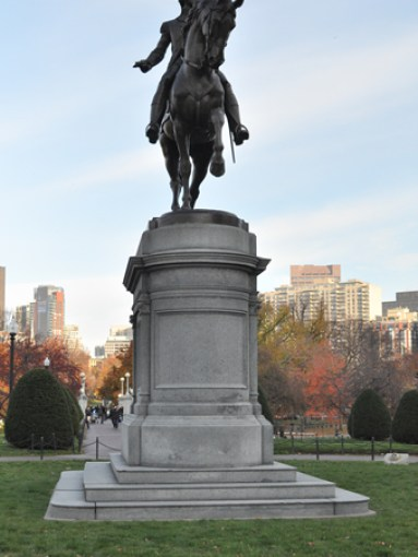 Boston Public Garden Washington Statue