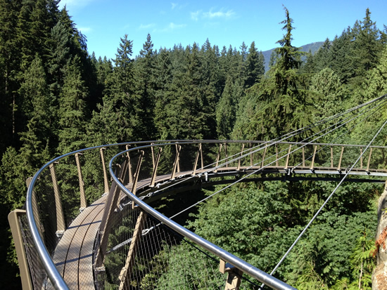 Capilano Suspension Bridge Park Cliffwalk