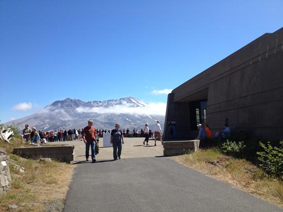 Mount St Helen Johnston Ridge Observatory