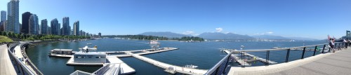 Panaroma from Convention Centre West