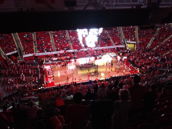NC State vs UTK basketball