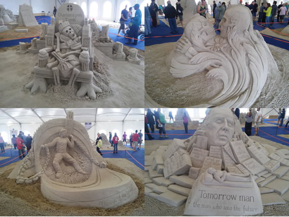 sand scupting competition