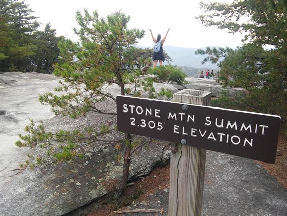 Stone Mountain State Park summit