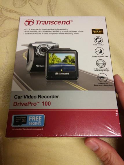 Transcend DrivePro 100 Box
