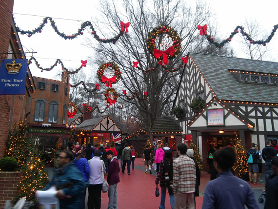 Busch Gardens Christmastown