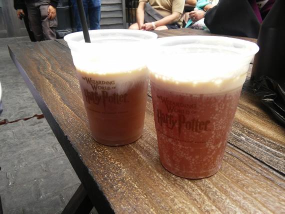 Universal Studios Orlando butter beer