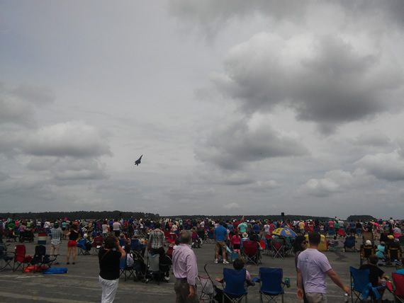 Cherry Point Air Show F-22