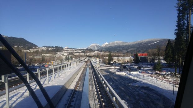 Skytrain Lafarge Lake-Douglas Station
