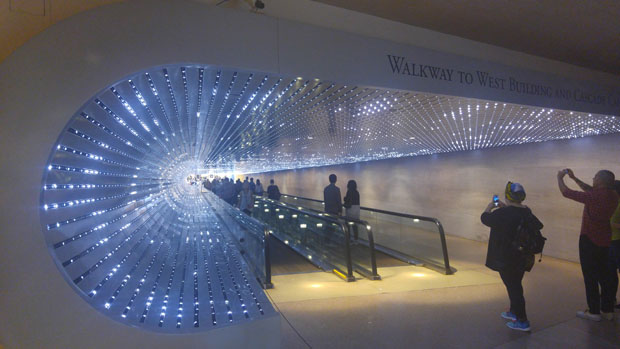 National Gallery tunnel