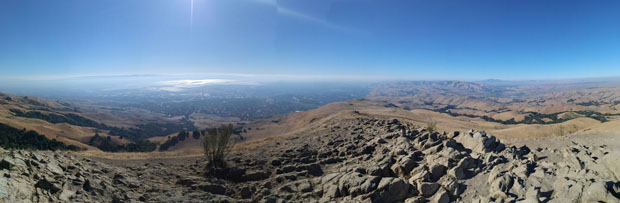 Mission Peak views