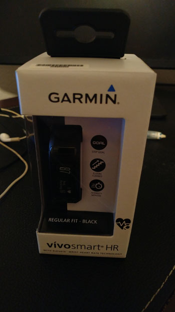 Garmin Vivosmart HR box