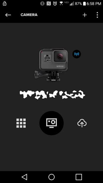 GoPro HERO6 app