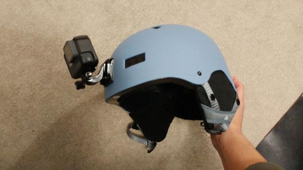 GoPro HERO6 helmet mount