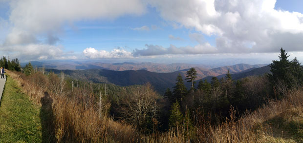 Great Smoky Mountains National Park Clingman Dome