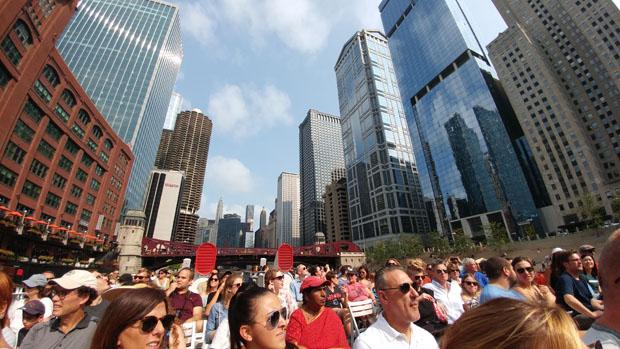 Chicago River architecture cruise