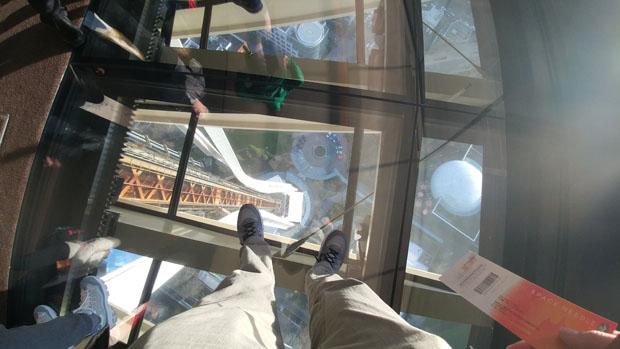 Space Needle floor