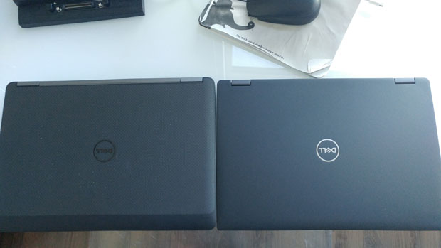 Dell Latitude 7390 2-in-1 vs E7270 top