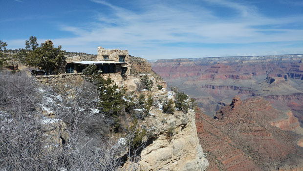 Grand Canyon National Park cliff house