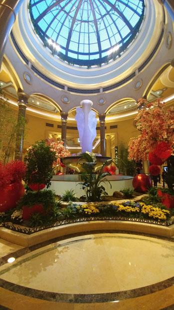 The Palazzo lobby