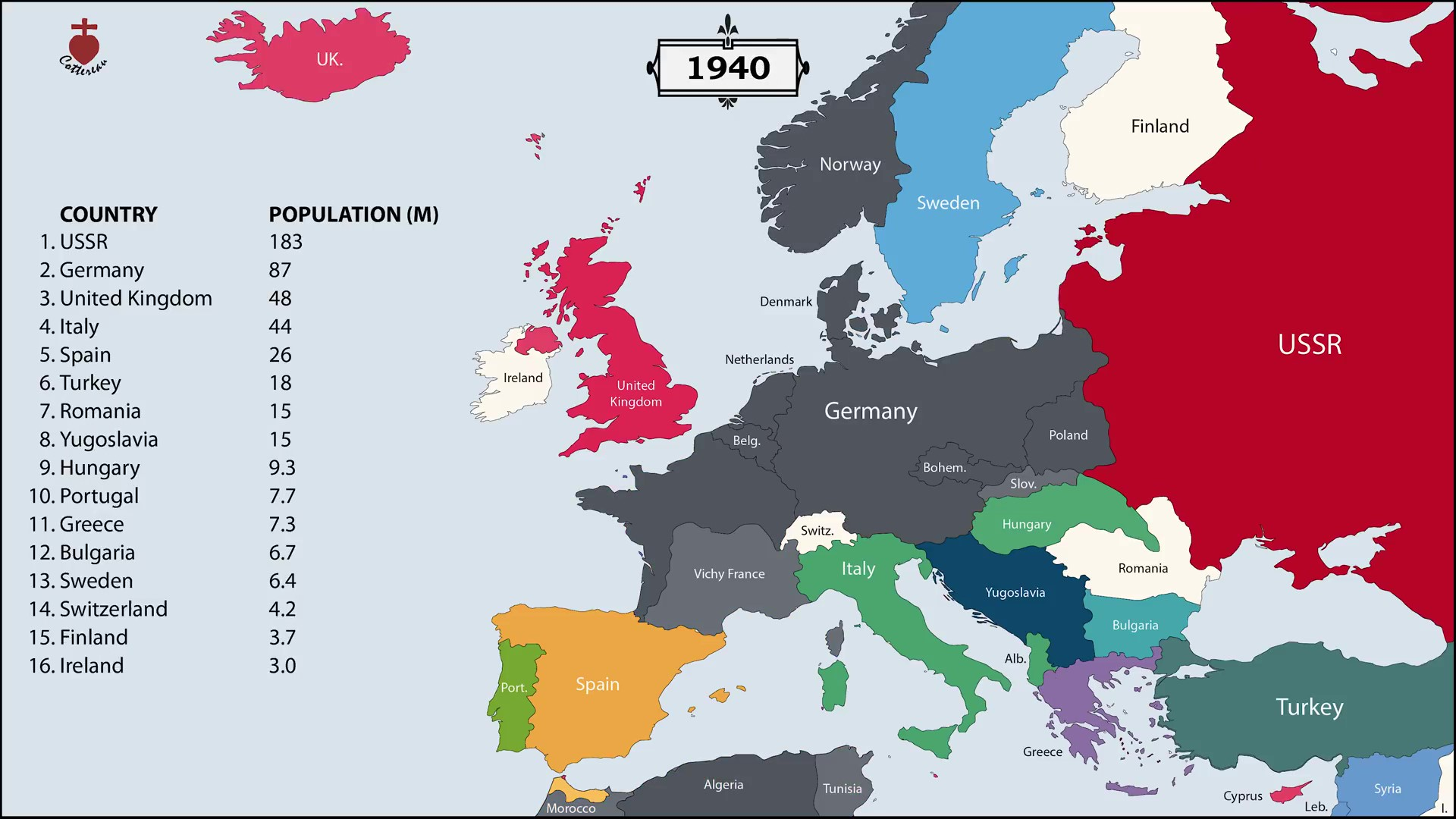 Watch European Borders Change From 400bc To