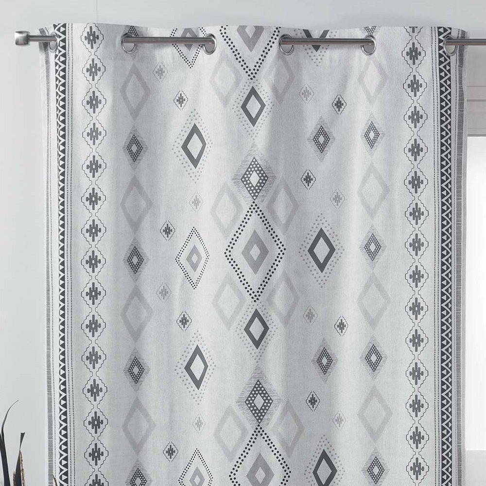 inca 100 cotton eyelet curtain panel