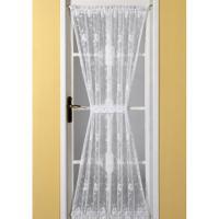 emma door net curtain white