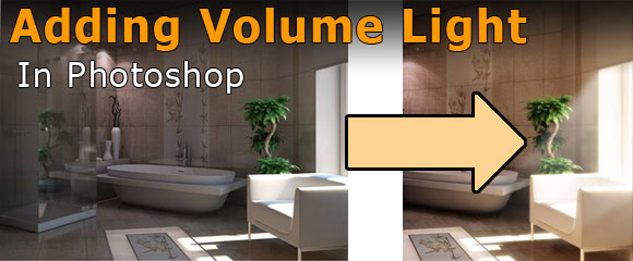 Architecture Interior Rendering  Adding and Changing Volume Light in     Architecture Interior Rendering  Adding and Changing Volume Light in  Photoshop